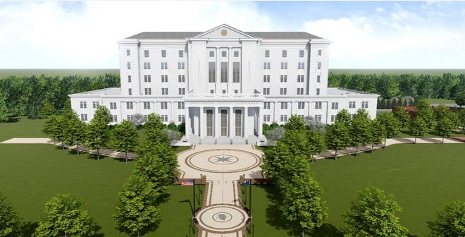New $152 Million Spartanburg County Courthouse